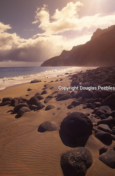 Kalalau Beach, Napali Coast, Kauai, Hawaii<br />