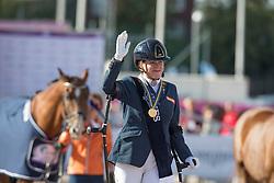 Voets Sanne, NED<br /> FEI European Para Dressage Championships - Goteborg 2017 <br /> © Hippo Foto - Dirk Caremans<br /> 22/08/2017,