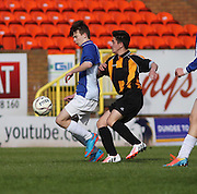 U16 Dundee United Cup Final (sponsored by Arab Trust) <br /> Craigie (gold and black) v St Johns (blue and white)<br /> <br />  - &copy; David Young - www.davidyoungphoto.co.uk - email: davidyoungphoto@gmail.com