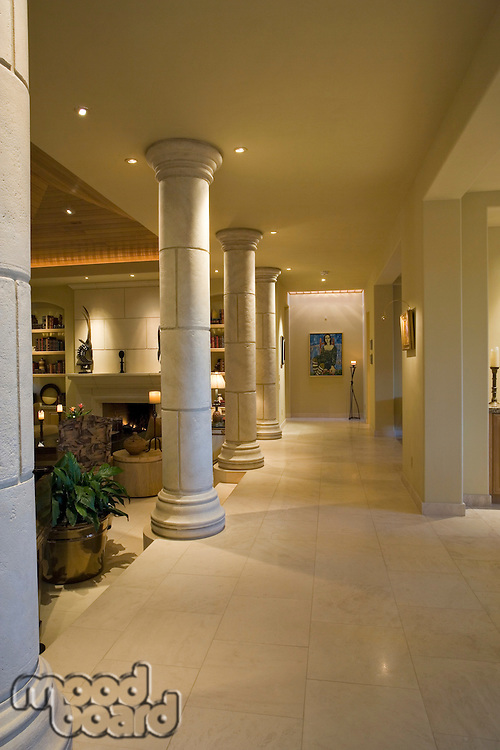 Luxury interior design hallway