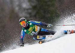 STIEGLER Seppi of USA during the 2nd Run of 7th Men's Giant Slalom - Pokal Vitranc 2013 of FIS Alpine Ski World Cup 2012/2013, on March 9, 2013 in Vitranc, Kranjska Gora, Slovenia. (Photo By Vid Ponikvar / Sportida.com)