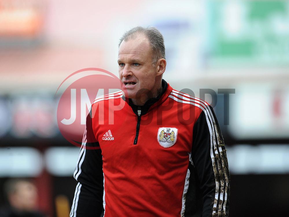 Bristol City goalkeeping coach, David Coles - Photo mandatory by-line: Dougie Allward/JMP - Tel: Mobile: 07966 386802 15/02/2014 - SPORT - FOOTBALL - Bristol - Ashton Gate - Bristol City v Tranmere Rovers - Sky Bet League One