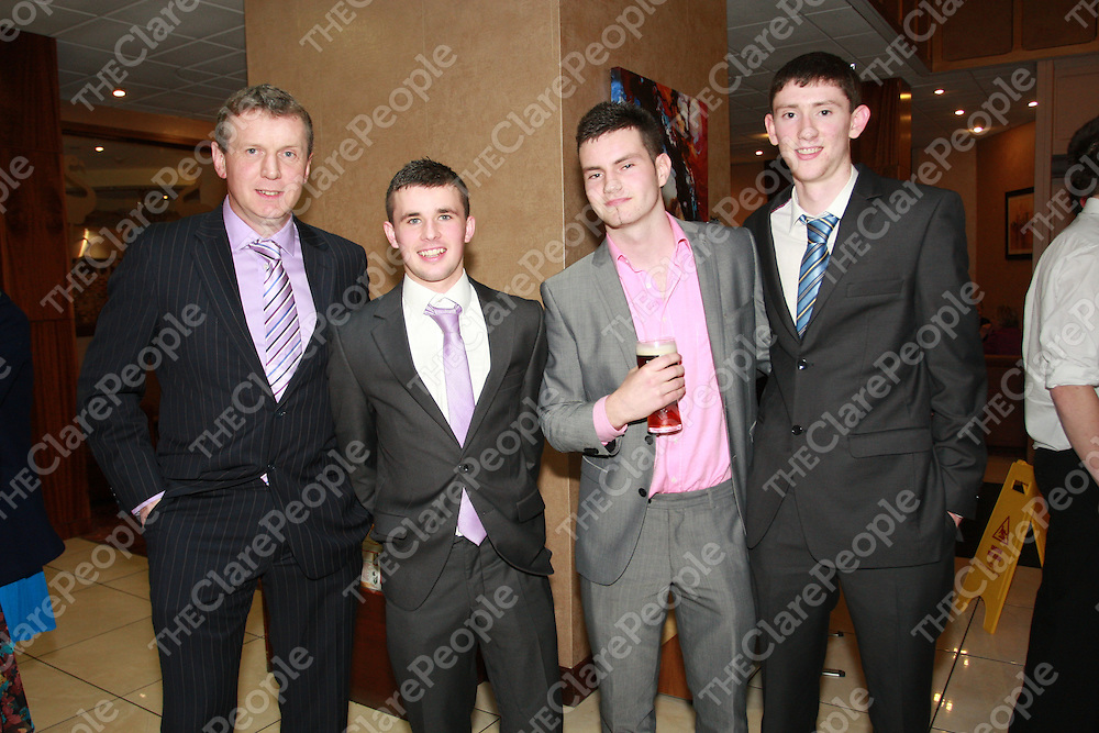 Donal Moloney, Cathal O'Connell, Rory Kelly & Alan Mulready. -  Photograph by Flann Howard