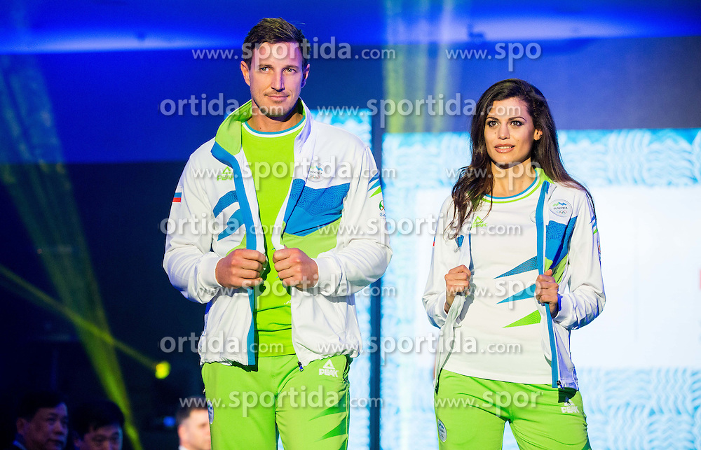 Iztok Hodnik during official presentation of the Designer wear for Slovenian Athletes at Rio Summer Olympic Games 2016, on April 15, 2016 in Hotel Lev, Ljubljana, Slovenia. Photo by Vid Ponikvar / Sportida