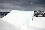 Mark Mcmorris during Men's Snowboard Slopestyle Finals at the 2016 X Games Aspen in Aspen, CO. ©Brett Wilhelm/ESPN