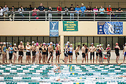 Contestants in the Race for a Reason Triathlon wait for their turn to start the swimming leg of the race. Photo by: Ross Brinkerhoff. Race for a Reason, Race 4 A Reason, Annual Events, Events, Students, Faculty & Staff