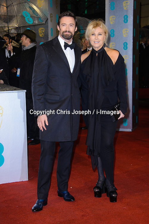 Hugh Jackman during The British Academy Film Awards, The Royal Opera House, Bow Street, Covent Garden, London, WC2, Sunday February 10, 2013. Photo by Chris Joseph / i-Images. ..