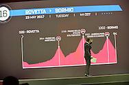 Presentazione Giro d'Italia 2017 il giro del 100 - Milano - Palazzo del Ghiaccio - 25 ottobre 2016 © foto Remo Mosna