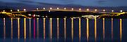 Herøy bridge by night | Herøybrua i kveldslys