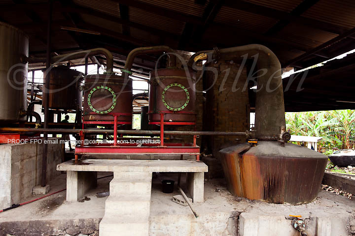 River Antoine Rum Distillery, established in 1785