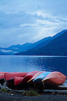 Lake Crescent, Olympic National Park, WA.