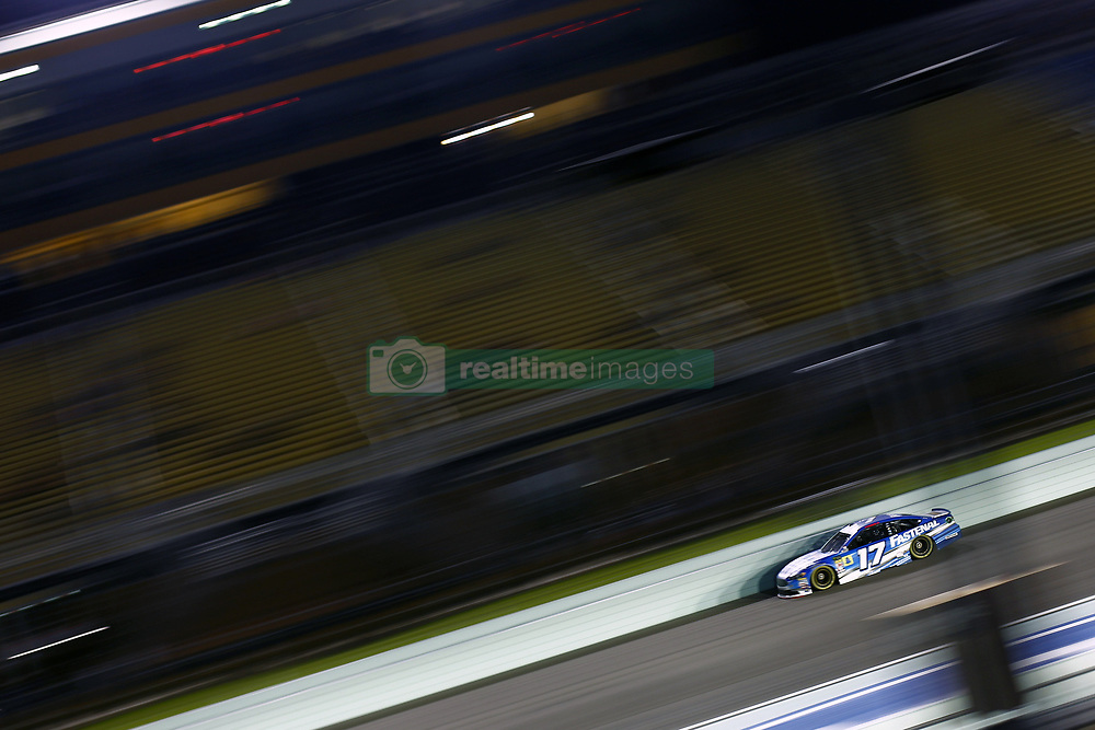 November 16, 2018 - Homestead, Florida, U.S. - Ricky Stenhouse, Jr (17) takes to the track to qualify for the Ford 400 at Homestead-Miami Speedway in Homestead, Florida. (Credit Image: © Justin R. Noe Asp Inc/ASP)