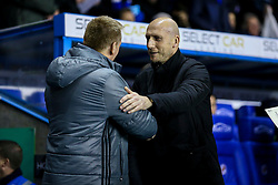 Reading manager Jaap Stam greets Brentford manager Dean Smith - Mandatory by-line: Jason Brown/JMP - 14/02/2017 - FOOTBALL - Madejski Stadium - Reading, England - Reading v Brentford - Sky Bet Championship