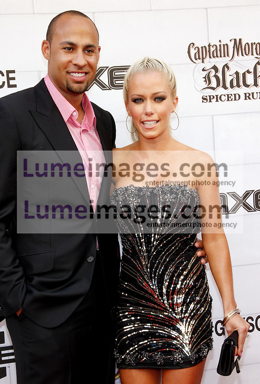 Kendra Wilkinson and Hank Baskett at the 2012 Spike TV's Guys Choice Awards held at the Sony Studios in Culver City on June 2, 2012. Credit: Lumeimages.com