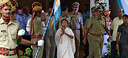 August 16, 2017 - Kolkata, West Bengal, India - West Bengal Chief Minister Mamata Banerjee inaugurate the newly renovated West Bengal Police Head Quarter Bhawani Bhawan in Kolkata. (Credit Image: © Sandip Saha/Pacific Press via ZUMA Wire)