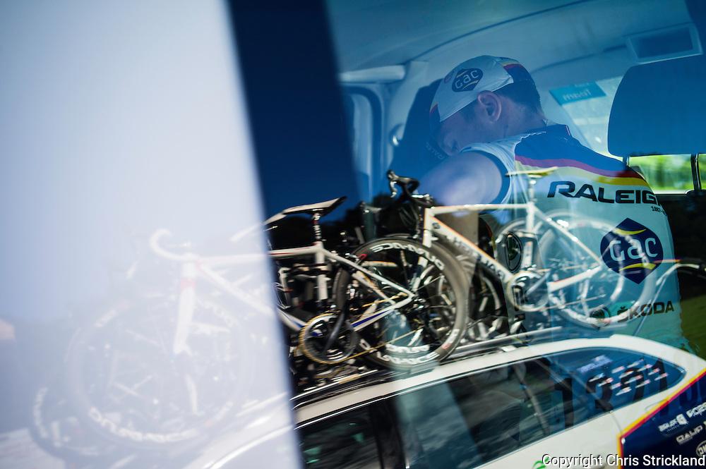 Tour of Britain 2012, Stage 3, Jedburgh, Scottish Borders.