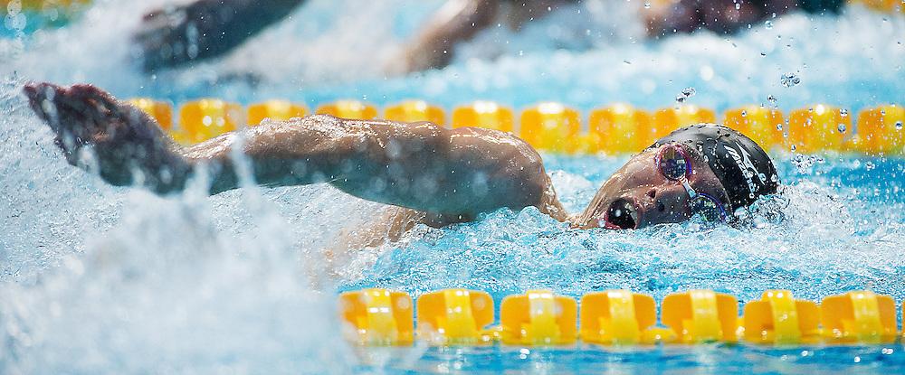 YAMAMOTO Kohei JAPAN JPN<br /> silver medal 400 freestyle men <br /> 27th Summer Universiade <br /> 5 - 17 July 2013 Kazan Tatarstan Russia<br /> Day 06 Swimming finals<br /> Photo G. Scala/Insidefoto/Deepbluemedia.eu