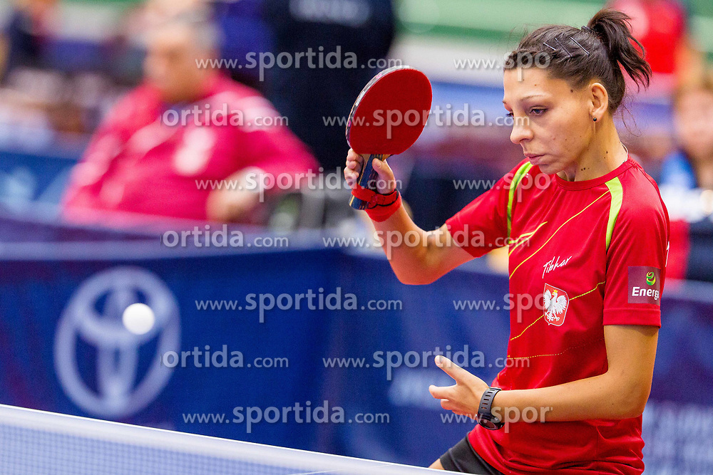 MARSZAL Katarzyna during day 2 of 15th EPINT tournament - European Table Tennis Championships for the Disabled 2017, at Arena Tri Lilije, Lasko, Slovenia, on September 29, 2017. Photo by Ziga Zupan / Sportida