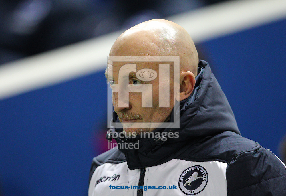 Ian Holloway,Manager of Millwall during the Sky Bet Championship match at the American Express Community Stadium, Brighton and Hove<br /> Picture by Paul Terry/Focus Images Ltd +44 7545 642257<br /> 12/12/2014