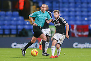 Brentford midfielder Alan Judge  during the Sky Bet Championship match between Bolton Wanderers and Brentford at the Macron Stadium, Bolton, England on 30 November 2015. Photo by Simon Davies.