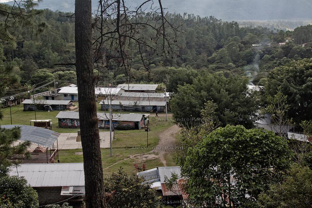 A view of the caracol in the morning.<br /> Vista del caracol en la ma&ntilde;ana.
