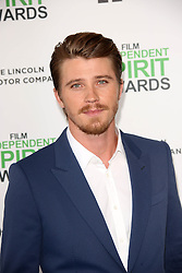 Garrett Hedlund at the 2014 Film Independent Spirit Awards Arrivals, Santa Monica Beach, Santa Monica, United States, Saturday, 1st March 2014. Picture by Hollywood Bubbles / i-Images<br /> UK ONLY