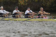Boston, Massachusetts,  Headof the Charle executive Director Fred Schoch, competing in the  Forty Second, [42nd] Head of the Charles, 22/10/2006.  Photo  Peter Spurrier/Intersport Images...[Mandatory Credit, Peter Spurier/ Intersport Images] Rowing Course; Charles River. Boston. USA