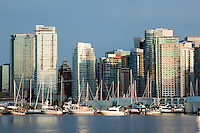 Downtown Vancouver Skyrises, British Columbia, Canada