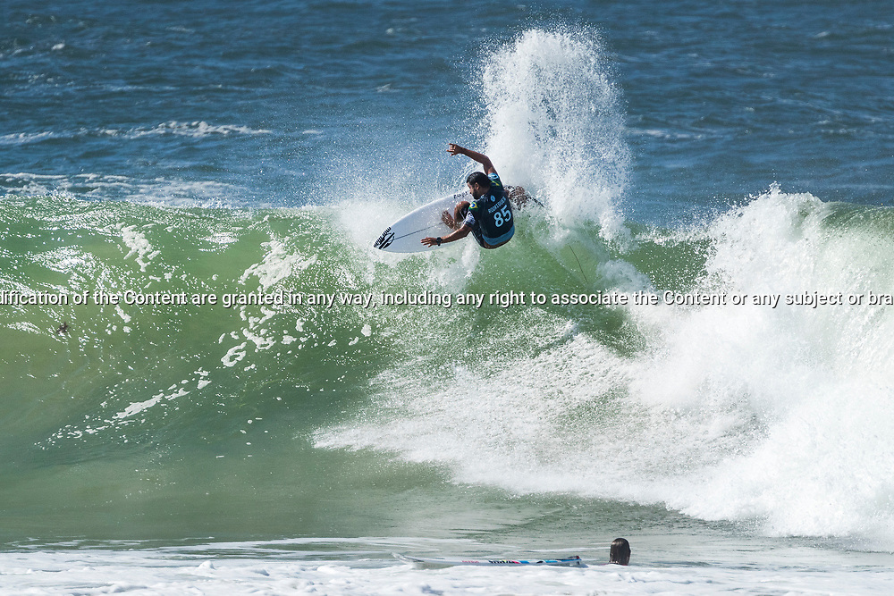 Rookie Michael Rodrigues (BRA) advances to Round 4 of the Quiksilver Pro Gold Coast after winning Heat 12 of Round 3 at Snapper Rocks, Gold Coast, QLD, Australia. . FOR EDITORIAL NEWS USE ONLY