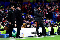 Lille manager Christophe Galtier and Chelsea manager Frank Lampard  - Mandatory by-line: Ryan Hiscott/JMP - 10/12/2019 - FOOTBALL - Stamford Bridge - London, England - Chelsea v Lille - UEFA Champions League group stage