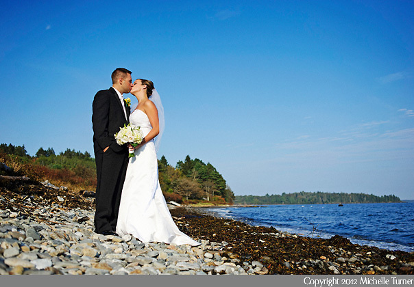 Point Lookout Wedding.  Images by Maine Wedding Photographer Michelle Turner.
