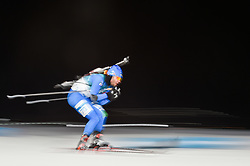 February 11, 2018 - Pyeongchang, Gangwon, South Korea - Giuseppe Montello of Italy at Mens 10 kilometre sprint Biathlon at olympics at Alpensia biathlon stadium, Pyeongchang, South Korea on February 11, 2018. (Credit Image: © Ulrik Pedersen/NurPhoto via ZUMA Press)