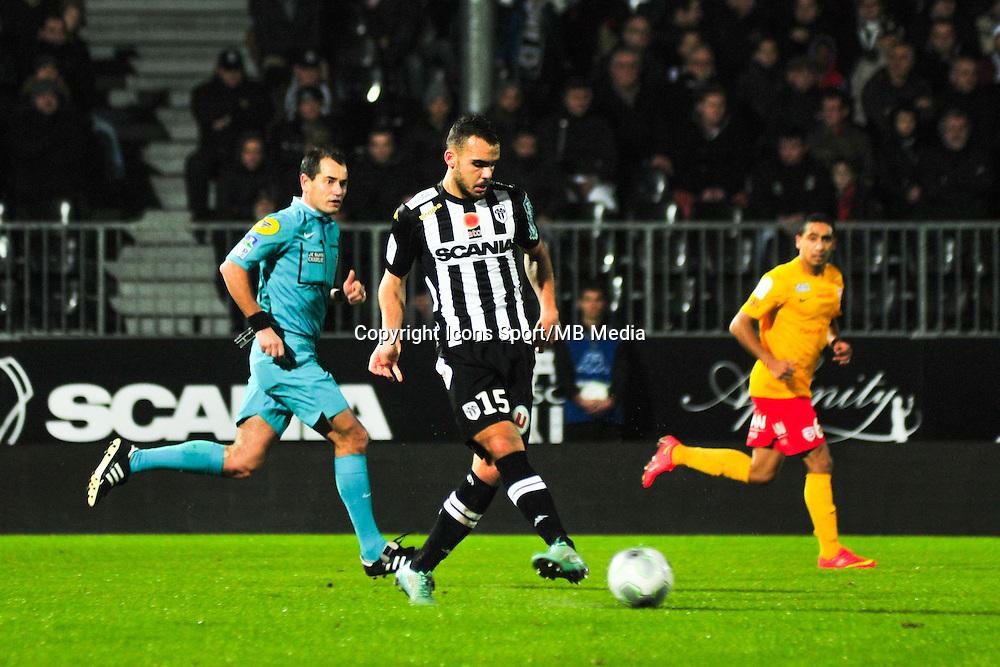 Rayan Frikeche  - 09.01.2015 - Angers / Nancy - 19eme journee de Ligue 2 <br /> Photo : Philippe Le Brech / Icon Sport