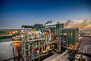 Sugar mill operating in Zambia. Commercial photography made fun with colour and perfect weather.