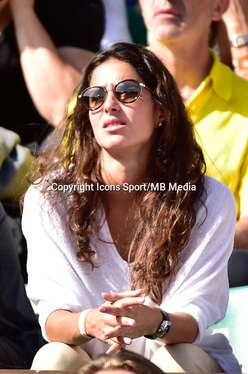 Xisca PERELLO (compagne de Rafael NADAL) - 03.06.2015 - Jour 11 - Roland Garros 2015 <br />Photo : Dave Winter / Icon Sport