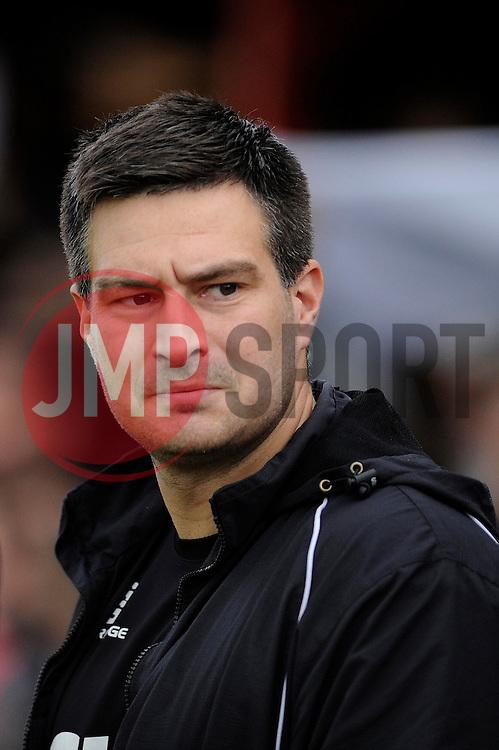 Tamworth Manager, Dale Belford - Photo mandatory by-line: Dougie Allward/JMP - Tel: Mobile: 07966 386802 08/12/2013 - SPORT - Football - Tamworth - The Lamb Ground - Tamworth v Bristol City - FA Cup - Second Round