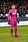 Vaclav Hladky of St Mirren Goal Keeper during the Ladbrokes Scottish Premiership match between St Mirren and Livingston at the Simple Digital Arena, Paisley, Scotland on 2nd March 2019.
