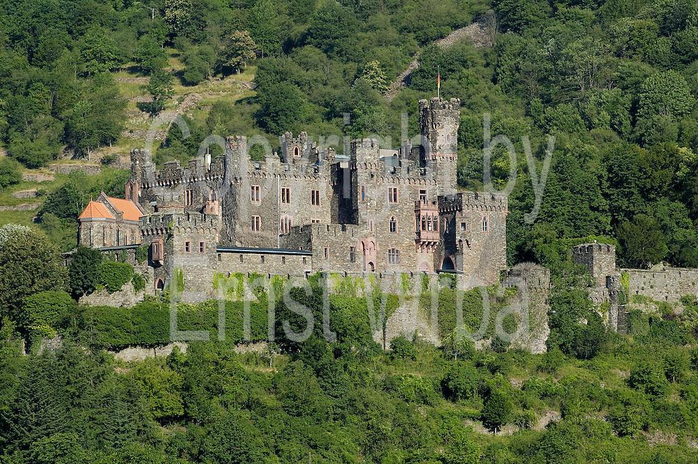 Burg Reichenstein am Rhein bei Assmannshausen