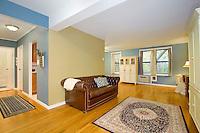 Living Room at 45 Overlook Terrace