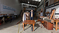 England, Emsworth, The Boat Project. 25  February  2011. Greg Whelan, Artistic Director, Lone Twin.