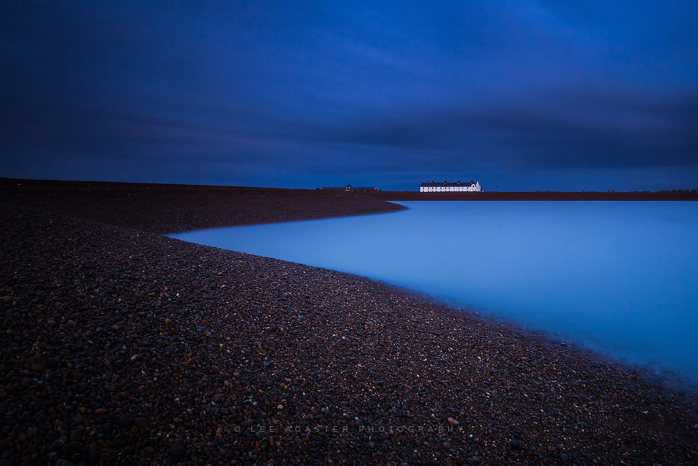 A long exposure from Shingle Street. The morning light illuminating the cottages as the sky turned stormier. One of those days when getting up at 5am is worth it.