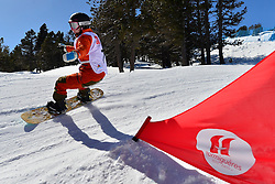 Europa Cup Finals Banked Slalom, VAN EGMOND Enya, NED at the 2016 IPC Snowboard Europa Cup Finals and World Cup