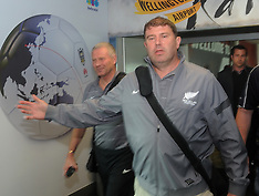 Wellington-All Whites coach kept from media as football team arrives from Mexico