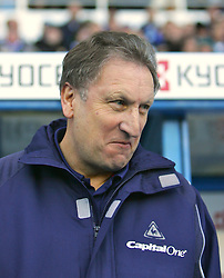 Reading, England - Saturday, January 20, 2007: Reading against Sheffield United's Neil Warnock during the Premier League match at the Madejski Stadium. (Pic by Chris Ratcliffe/Propaganda)