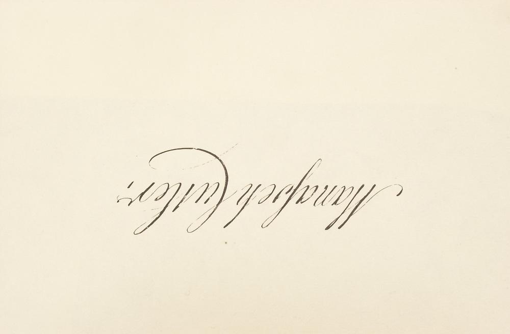 15410Manasseh Culter's Signature