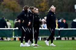 Vita van der Linden, Abi Harrison of Bristol City, Poppy Pattinson and Jess Woolley - Mandatory by-line: Ryan Hiscott/JMP - 24/11/2019 - FOOTBALL - Stoke Gifford Stadium - Bristol, England - Bristol City Women v Manchester City Women - Barclays FA Women's Super League