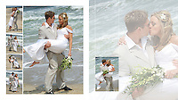 NJ Beach Wedding Album