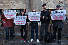 2019-10-08 ASH protest at Riba Stirling Prize