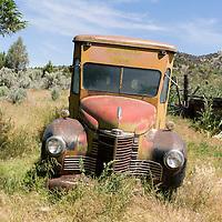 Old car in Richmond, Oregon