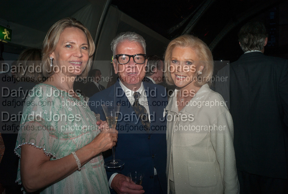 MRS. ARNAUD BAMBERGER; NICKY HASLAM;AUDREY GRUSS CARTIER CHELSEA FLOWER SHOW DINNER Dinner hosted by Cartier in celebration of the Chelsea Flower Show was held at Battersea Power Station. 22 May 2012